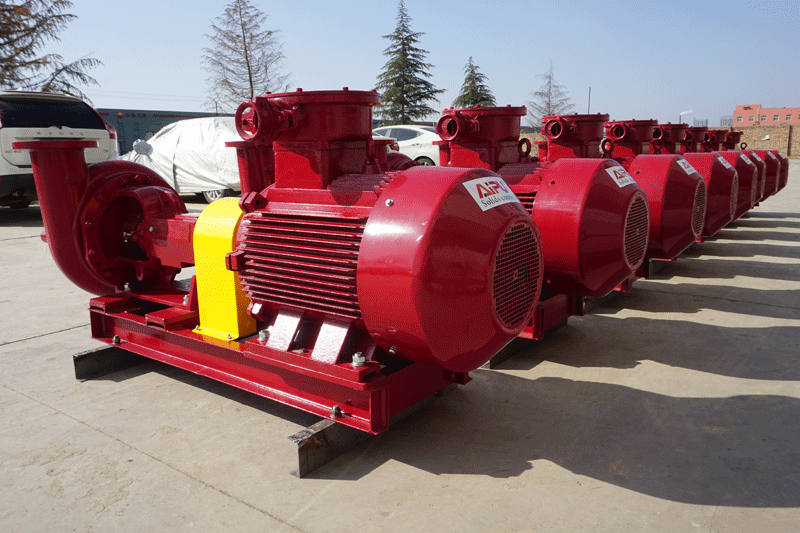 ELECTRIC MOTORS FOR CENTRIFUGAL PUMP AND CENTRIFUGE