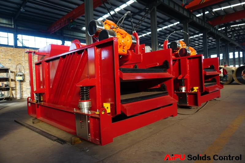 dual deck shale shakers