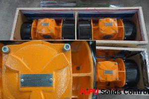 vibrating motor for shale shaker