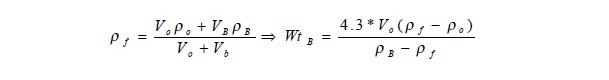 control mud weight Formula calculation