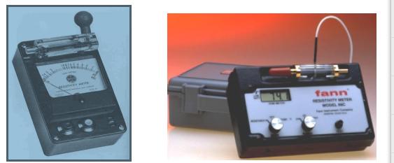 Analog digital resistivity meter