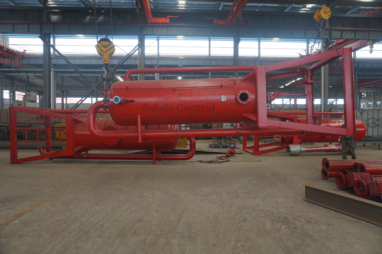 3 sets Mud gas separator