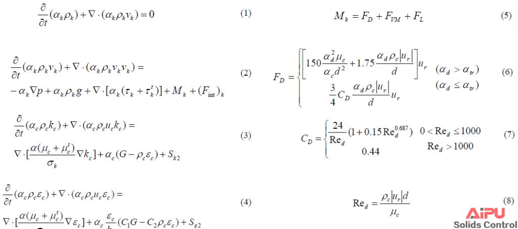 hydrocyclone formula