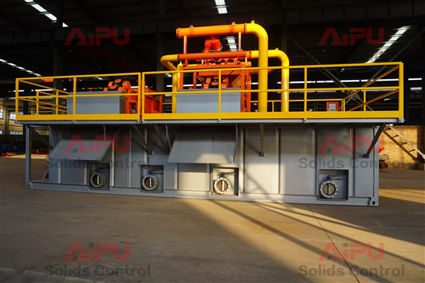 mud recycling system details