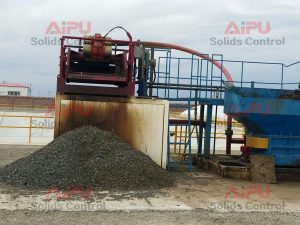 drying shaker in oil sludge treatment