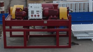 a crimson color decanter centrifuge
