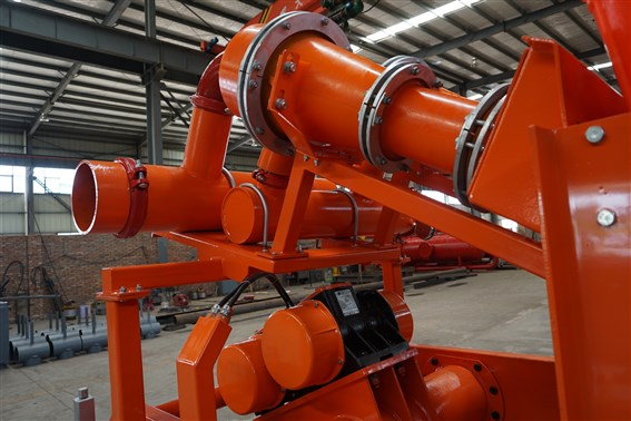 drilling fluid cleaner - hydrocyclone