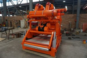 Drilling fluid cleaner (mud cleaner)