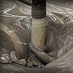 gypsum mud
