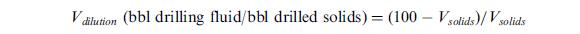 dilution volume