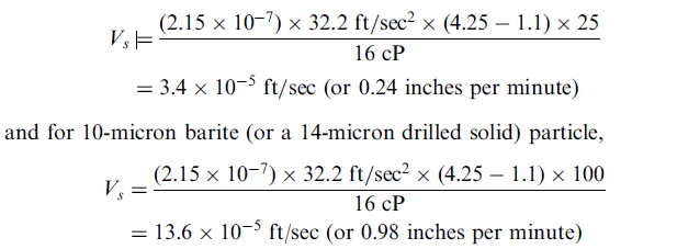 Cauculation formula