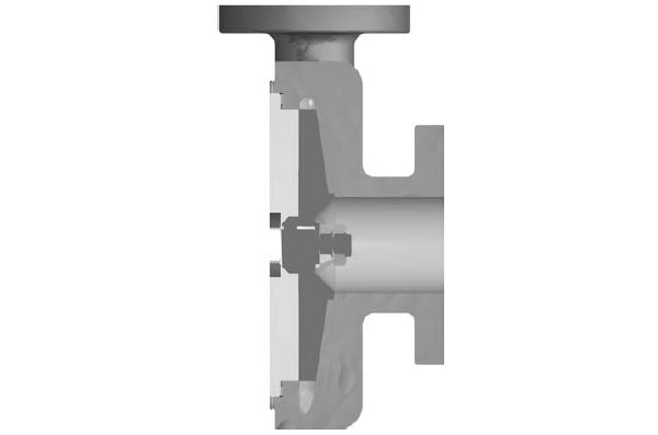 Volute style casing profile