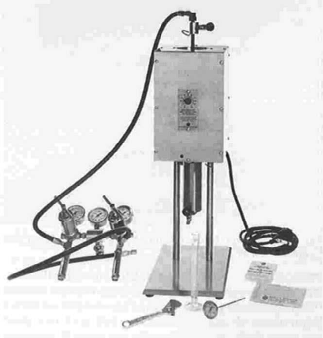 High-temperature-High-pressure-filter-press