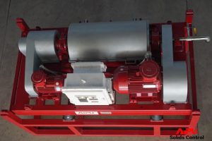 Overlook decanter centrifuge