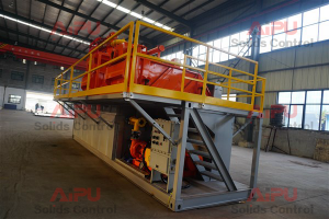 Mud recycling system