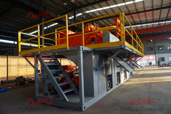 drilling fluid recycling system for hdd
