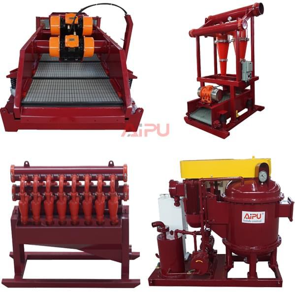 main solids control equipment