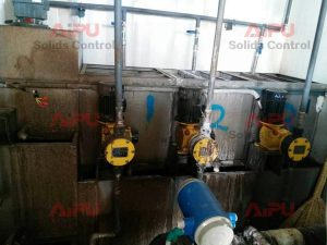 oil sludge treatment working