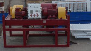 a crimson color decanter centrifuge